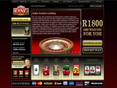 online casino gambling site king spielen